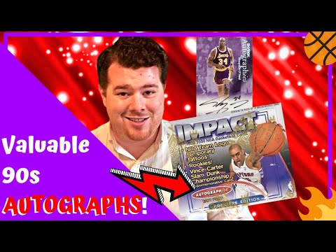 how-rare-were-autographed-basketball-cards?-|-1999-00-skybox-impact-pack-break-|-[s2-e21]