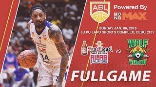San Miguel Alab Pilipinas v Wolf Warriors | FULL GAME | 2018-2019 ASEAN Basketball League