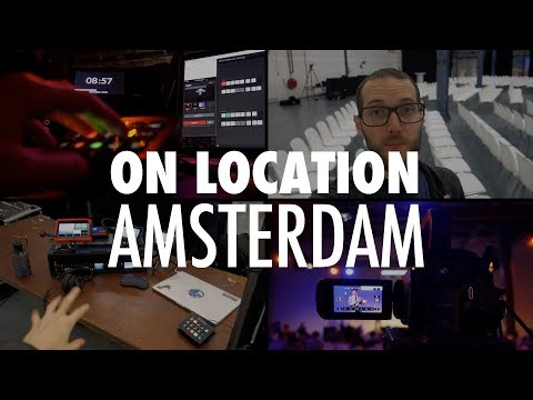On Location: Two Day Conference in Amsterdam // On Location Ep.1
