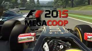 F1 2015 MEGACOOP - LAUF 3 RENNEN (Xbox One) / Lets Play F1 2015