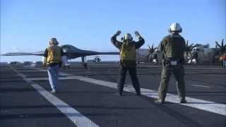 X-47B Northrop Grumman (KILLER) UAV Drone United States Navy