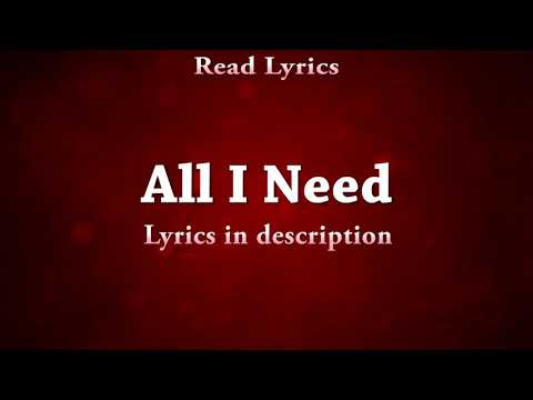 Hdvidz in All I Need Full Song With Lyrics   Ikka