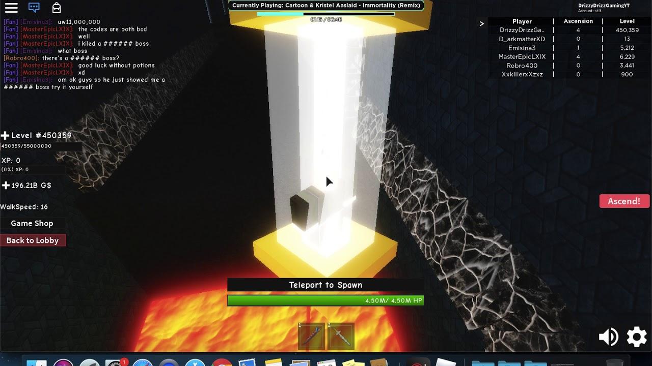 Infinity RPG New Code | Roblox - YouTube