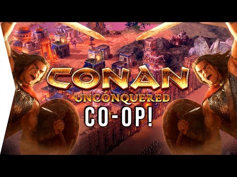 They Are Barbarians! - Conan Unconquered ► Co-op RTS Survival Strategy Multiplayer Gameplay
