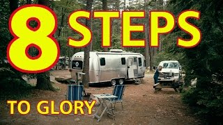 For Beginners: HOW TO SET UP AN RV CAMPSITE (8 STEPS TO GLORY!)