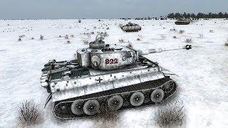Масштабный Танковый Бой в Снегах СТАЛИНГРАДА ! В Игре В Тылу Врага 2 Штурм