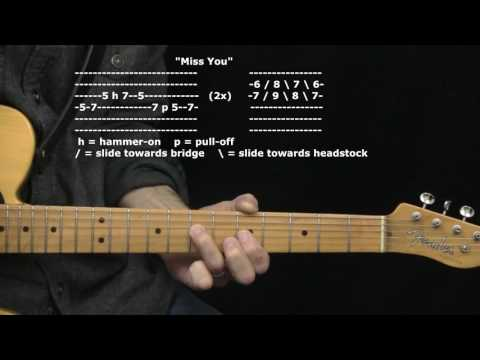 """Miss You"" by The Rolling Stones : 365 Riffs For Beginning Guitar !!"