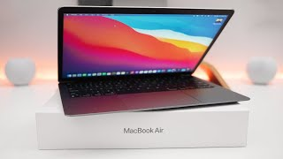 2020 MacBook Air M1 - Unboxing, Setup and First Look
