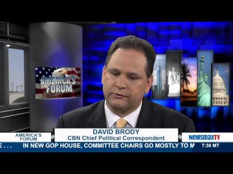 America's Forum | David Brody Chief political correspondent for the CBN| Part 1