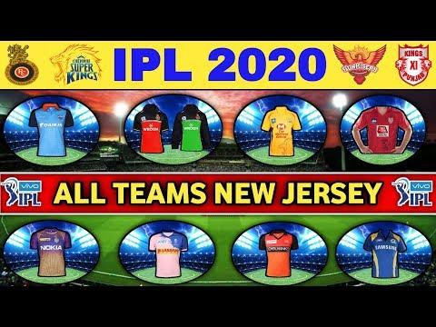 IPL 2020 - All Teams Final New Jersey | RCB, CSK, MI, KXIP, RR, SRH, KKR, DC