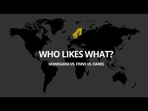 Favourite Keywords in Advertising   Norway, Finland and Denmark