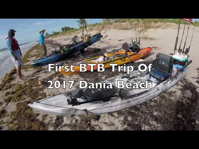 Kayak Fishing Offshore Ocean Kayak Prowler 13 at Dania Beach Florida-Skunk Day?