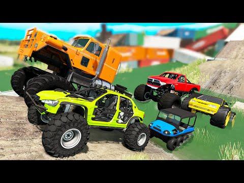 monster-trucks-mud-battle-#2---beamng-drive