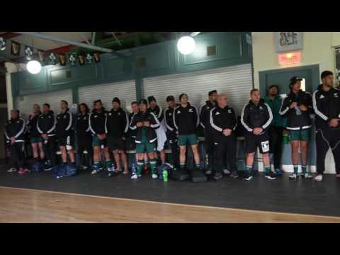 Maori All Blacks Sing Nga Te Ariki