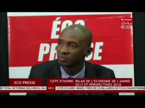 Business 24   Eco Presse - Côte d'Ivoire Bilan de l'économie de l'année 2017 et perspectives 2018
