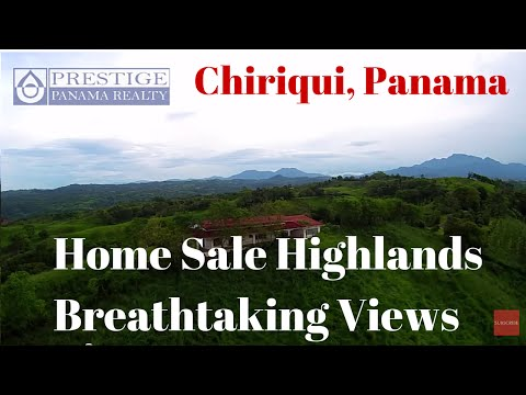 One of the kind home SALE in the highlands of Panama. Private, relaxing and surrounded by nature