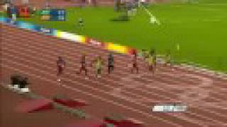 BEIJING OLYMPIC GAMES | MEN'S 100M ATHLETICS FINAL | USAIN BOLT GOLD WORLD RECORD