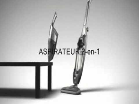 nilfisk handy aspirateur balai 2 en 1 youtube. Black Bedroom Furniture Sets. Home Design Ideas