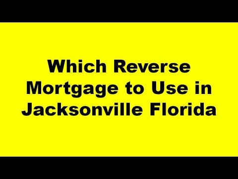 Reverse Mortgage Jacksonville Florida - The Best Reverse Mortgage Lender Jacksonville FL Offers