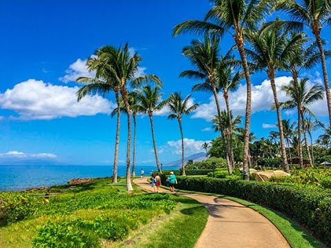 Wailea Beach Path, Maui, Hawaii, DJI Osmo 4K