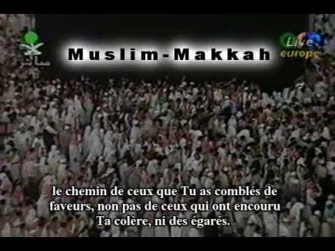 Sudais 1995 luqman partie 1 by muslim-makkah