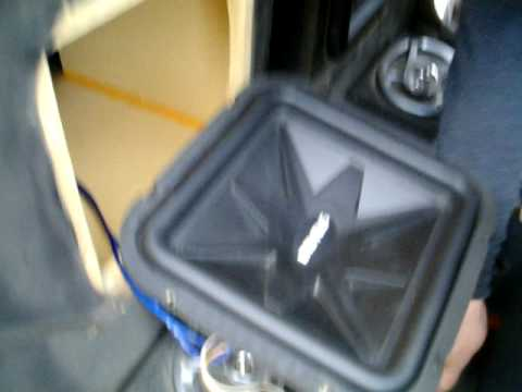 walled Hifonics Brutus Square Subwoofers