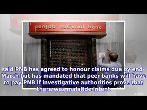 India's PNB to honour claims by banks, but with conditions -...