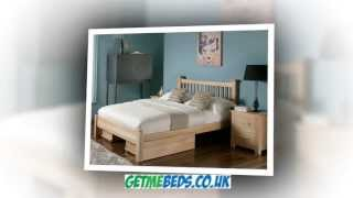 Flintshire Aston Oak Bed Frame