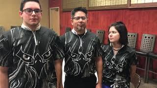 Westerville Central's Zach Gonzalez, Tony Gonzalez and Reace Gonzalez