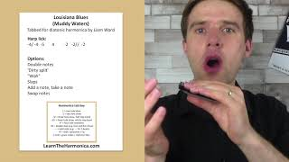 Louisiana Blues (Muddy Waters) harmonica lesson for D harp