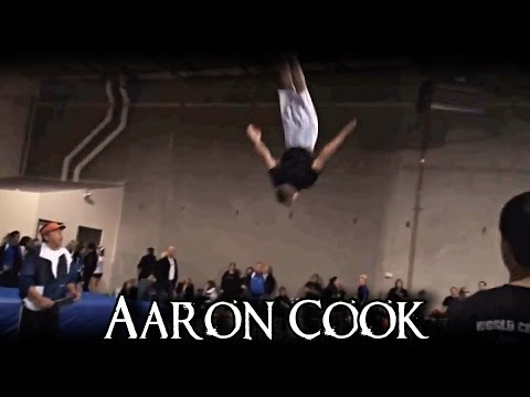 Aaron CooK  Tumbling Legend  World Champion!