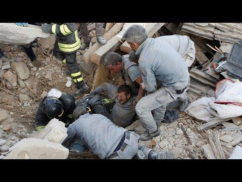 Thế Giới Nhìn Từ Vatican 18 – 24/08/2016: Vụ động đất kinh hoàng tại Italia khiến ĐTC đau buồn