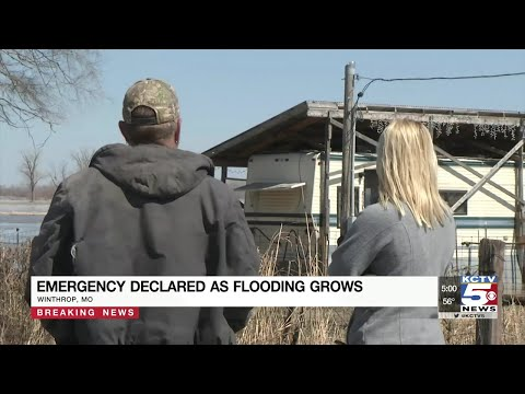 Flooding continues heading south along Missouri River, evacuating more small towns