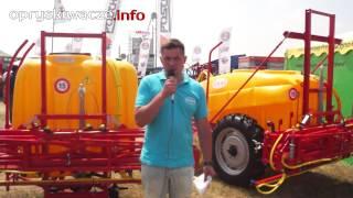 Opryskiwacze KWAS na wystawie Opolagra 2015 - zawieszane i zaczepiane