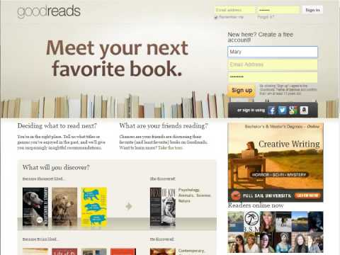 how to close goodreads account