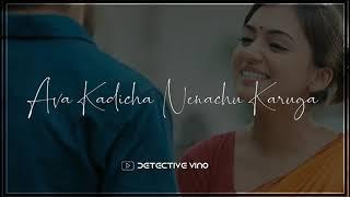 Angnyaade song || Raja Rani || Naziriya || Nayan ||