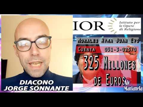 AloMarianela Evo Con Sus 325 Millones De Euros En El Banco Del Vaticano