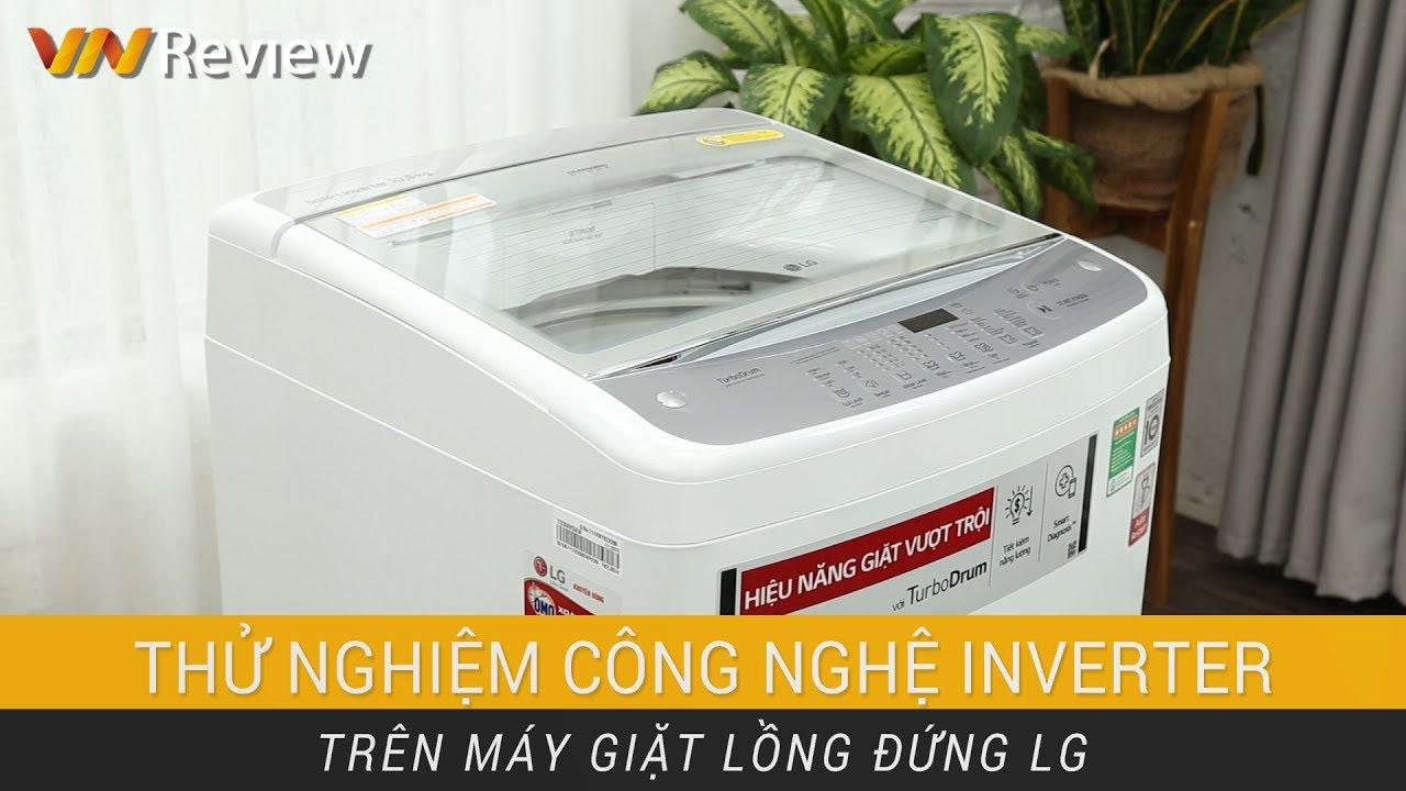 Lg Inverter 7kg Mesin Cuci F1007nppw