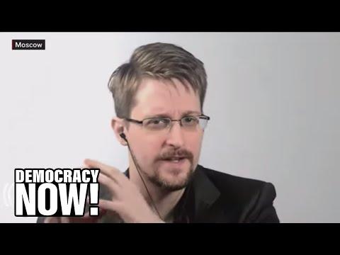 Edward Snowden on exposing NSA surveillance: