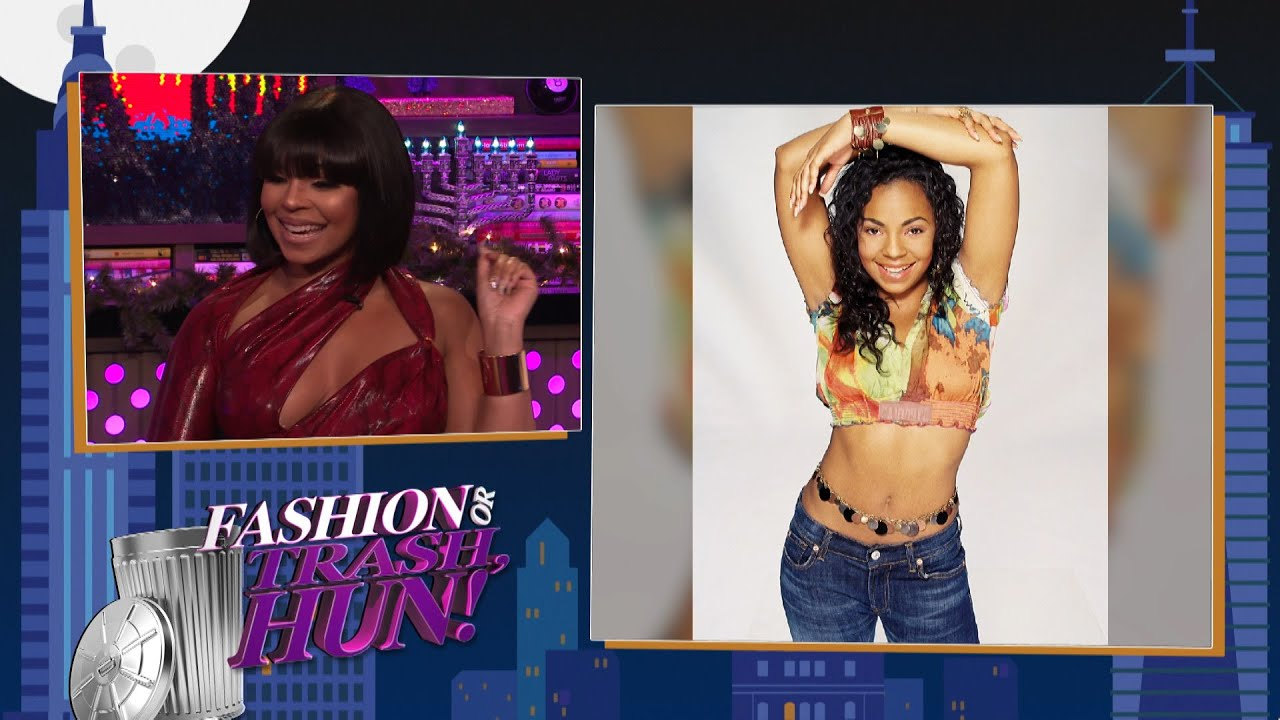 Ashanti Rates Her Past Fashion Choices | WWHL
