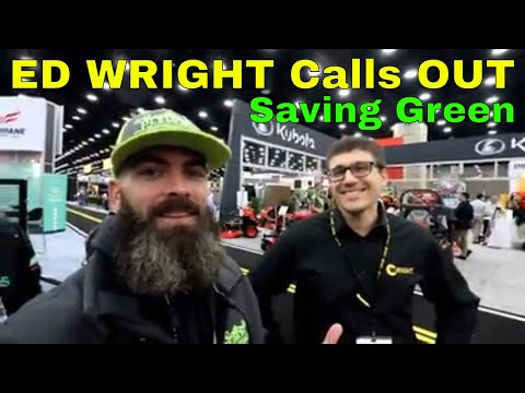 GIE EXPO 2018 Day 1 | Called out Saving Green