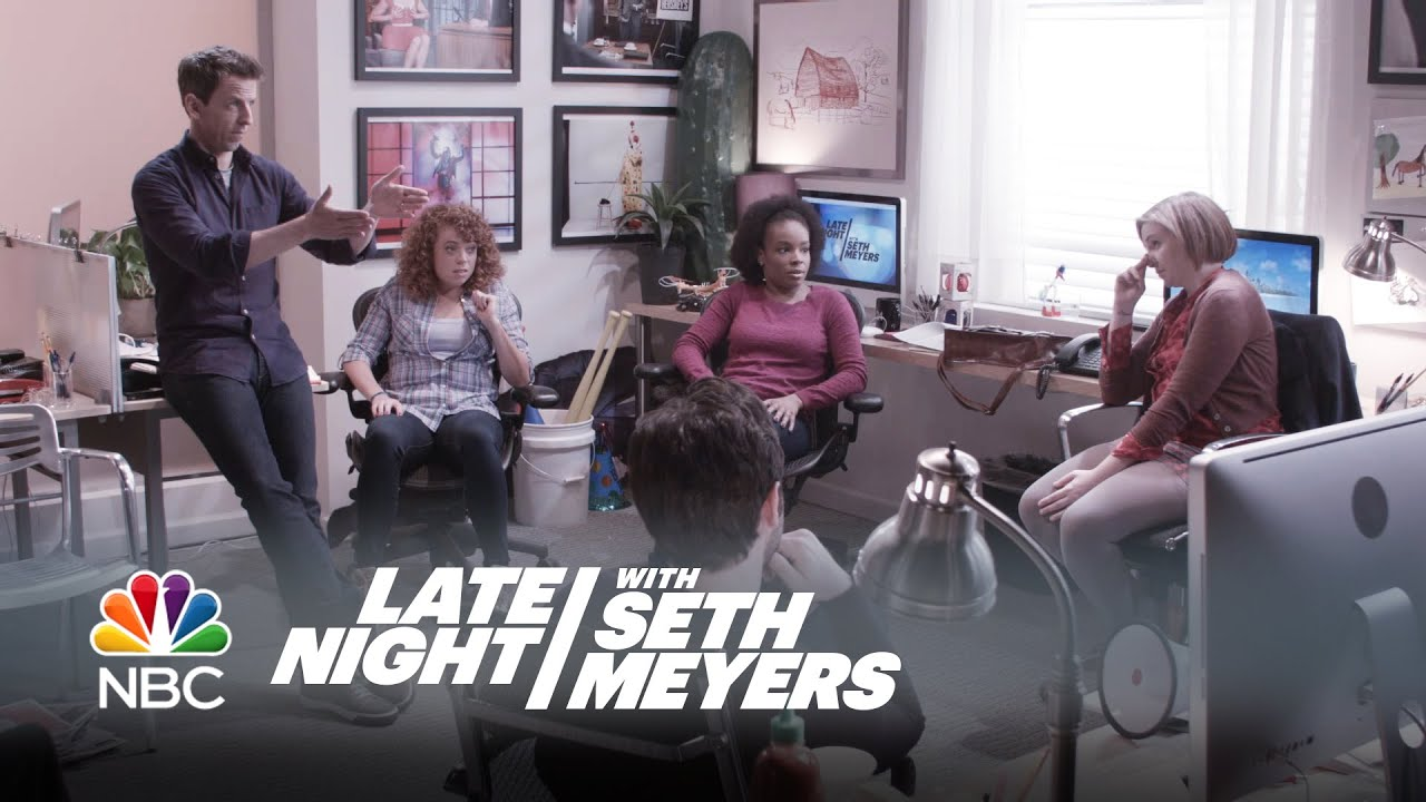 Seth Meyers' 'Closer Look' segments are 'Late Night' staple