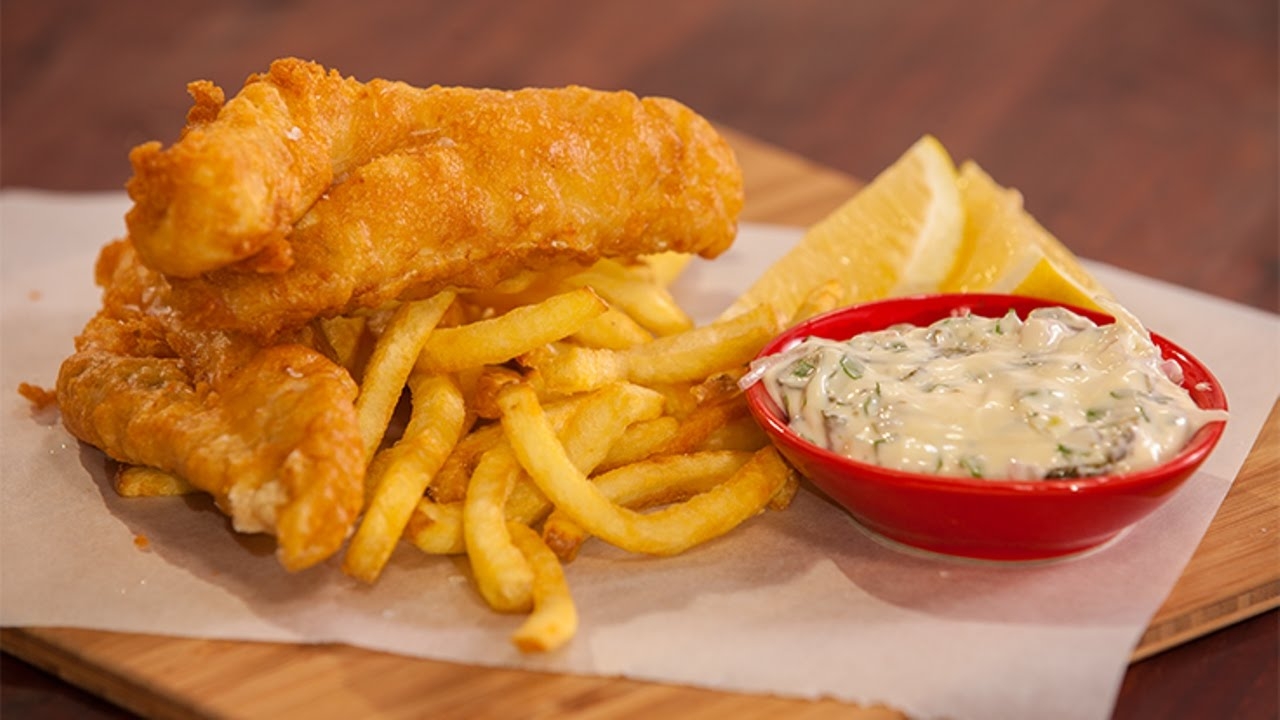How to make the best beer battered flathead and chips by for How to make fish and chips