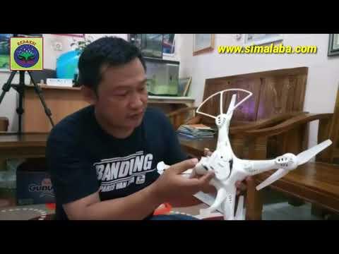 CARA MENGOPERASIKAN DRONE HKS200W UNTUK KONTEN DIGITAL JURNALISTIK (Berita Video)