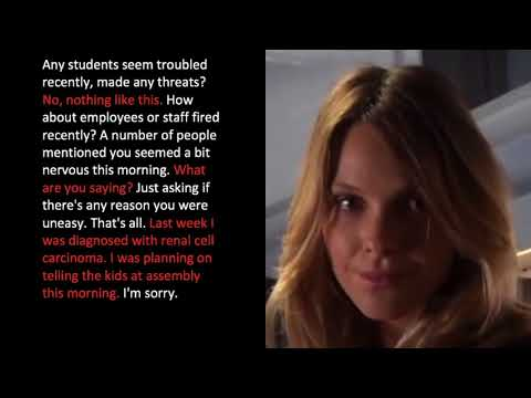ENGLISH LESSON with TV SHOWS (Lesson #4) Title: Criminal Minds