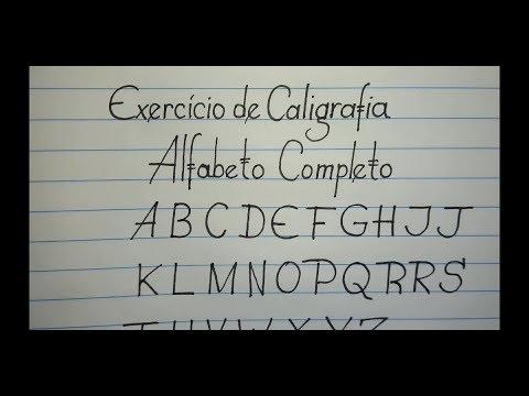 Exercícios de Caligrafia para deixar sua letra bonita