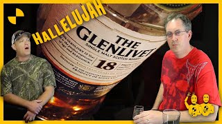 The Glenlivet 18 whisky review, Choking and Karaoke in the end...Scotch Test Dummies
