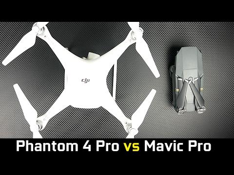DJI Phantom 4 Pro vs Mavic Pro - What's the Best Drone?