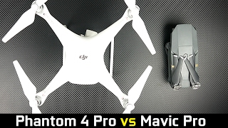 Dji phantom 4 pro vs mavic pro - what's the best drone?
