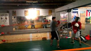 Rick vs Pink Boxing at Frank Rodriguez Boxing Club 2 of 2